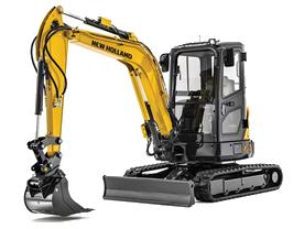 New Holland E35 Mini Excavator